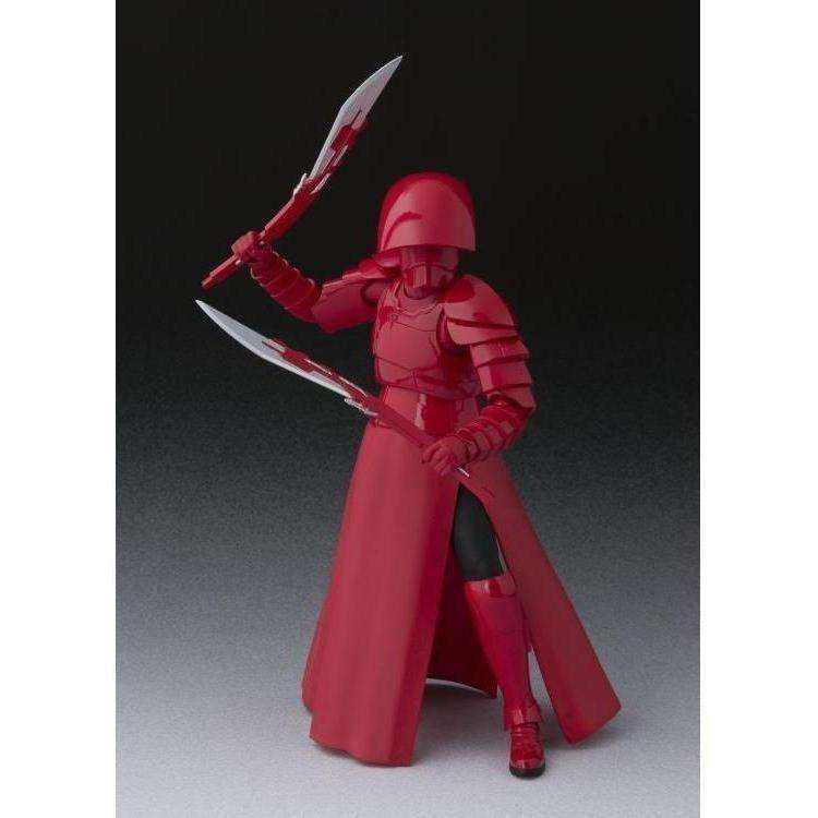 Star Wars S.H.Figuarts Elite Praetorian Guard with Double Blade (The Last Jedi) Action Figure