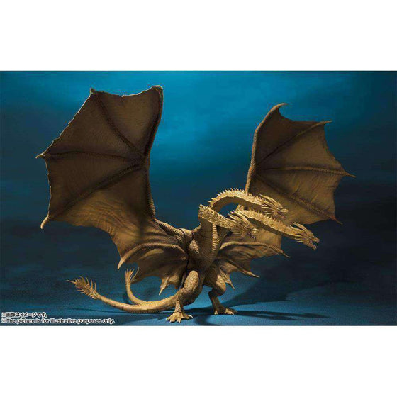 Godzilla: King of the Monsters S.H.MonsterArts King Ghidorah - JULY 2019
