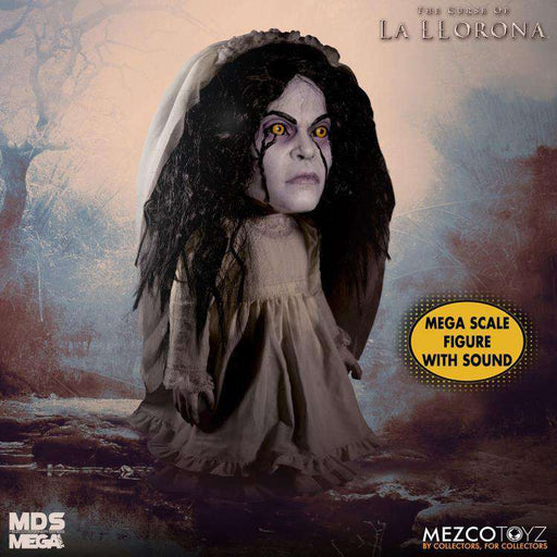 The Curse of La Llorona Mezco Designer Series Mega Scale Talking La Llorona (DAMAGED BOX)