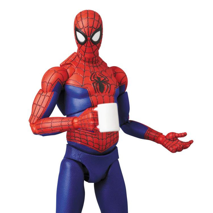 Into the Spider-Verse Mafex No.108 (Peter B. Parker) Spider-Man - JUNE 2020