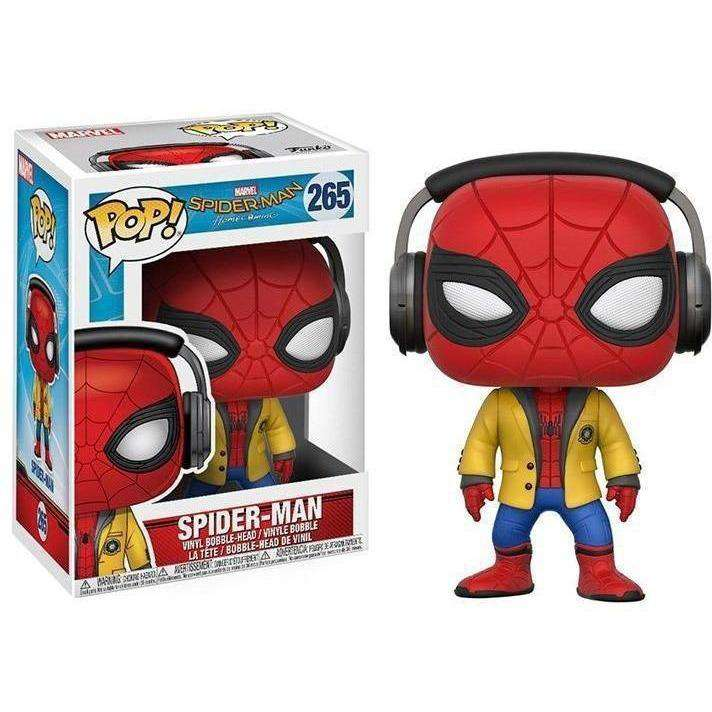 Pop! Marvel: Spider-Man: Homecoming Spider-Man (With Headphones)