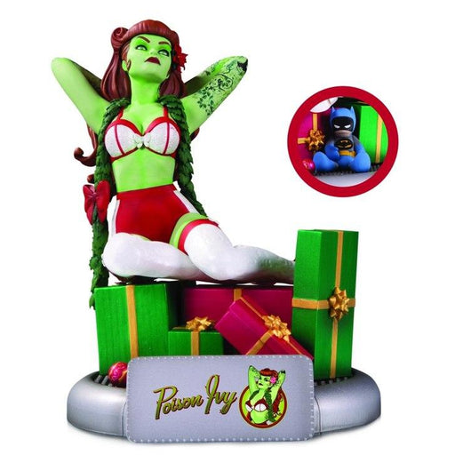 DC Bombshells: Poison Ivy Holiday Variant Statue - NOVEMBER 2020
