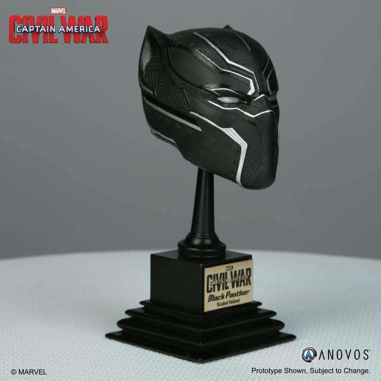 Captain America: Civil War Marvel Armory Collection Black Panther 1/3 Scale Helmet Replica - Q3 2018