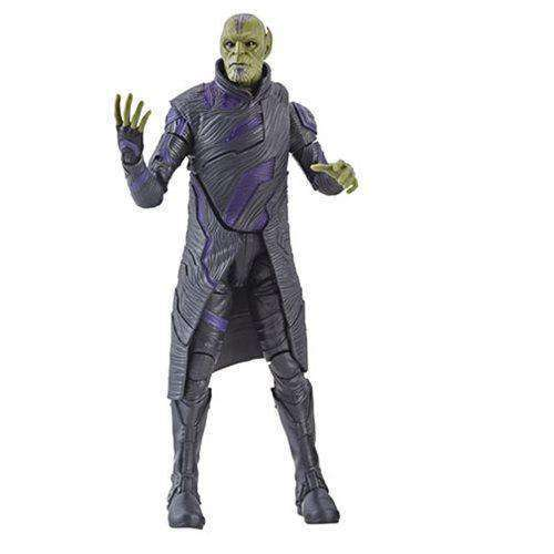 Captain Marvel (Kree Sentry BAF) Marvel Legends Wave 1 - Talos Skrull