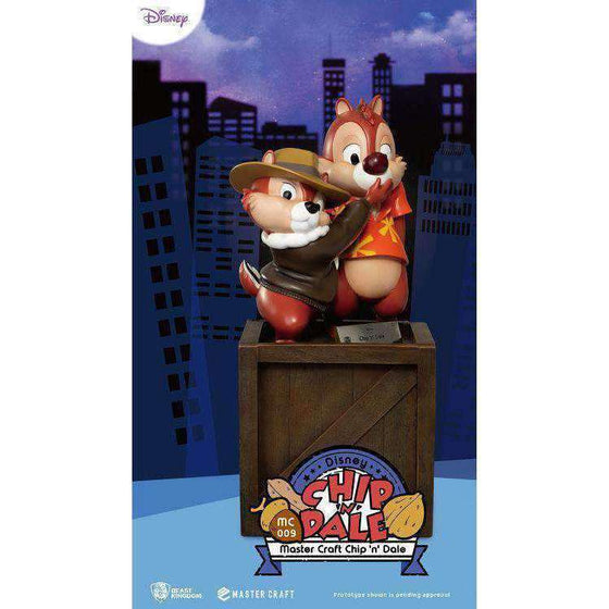 Chip 'n Dale Master Craft MC-009 Chip & Dale 1/4 Scale Statue - AUGUST 2019