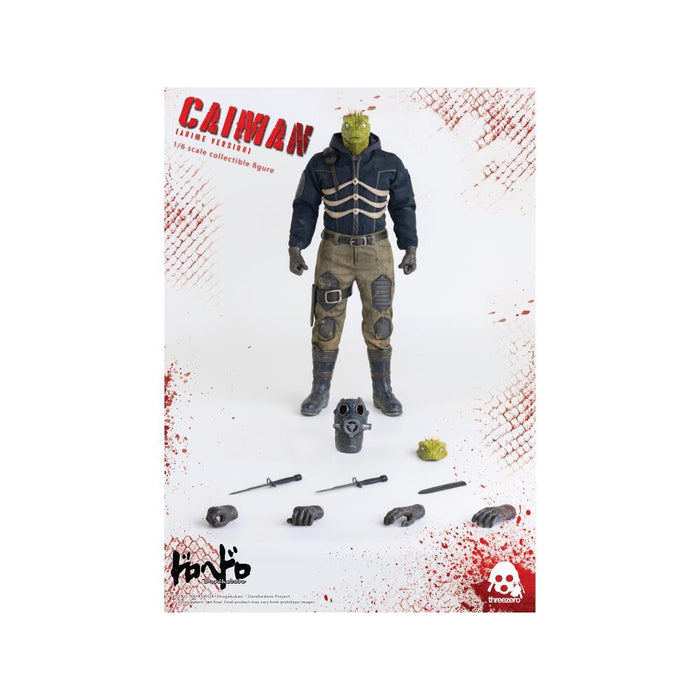 Dorohedoro Caiman Anime Version 1:6 Scale Action Figure - JANUARY 2021