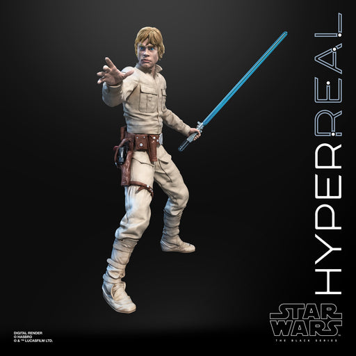 Star Wars The Black Series Luke Skywalker Hyperreal 8-Inch Action Figure (DAMAGED BOX)