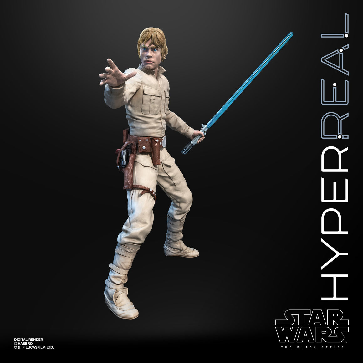 Star Wars The Black Series Luke Skywalker Hyperreal 8-Inch Action Figure - MAY 2020