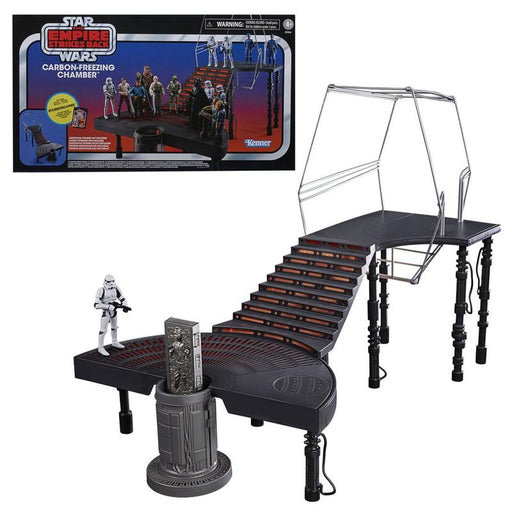 Star Wars The Vintage Collection Carbon-Freezing Chamber Playset with Stormtrooper Action Figure - OCTOBER 2020