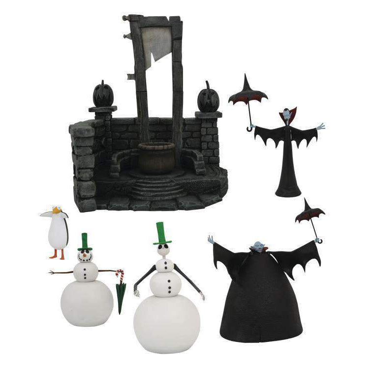 The Nightmare Before Christmas Select Series 7 Set of 3 Figures - NOVEMBER 2019