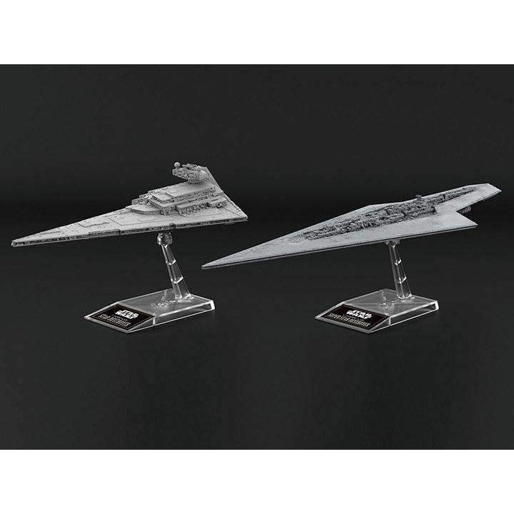 Star Wars Star Destroyer & Super Star Destroyer Model Kit Two-Pack - SEPTEMBER 2019