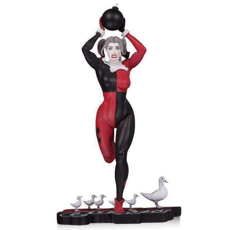 DC Comics Red White & Black Harley Quinn Limited Edition Statue (Frank Cho) - JUNE 2019