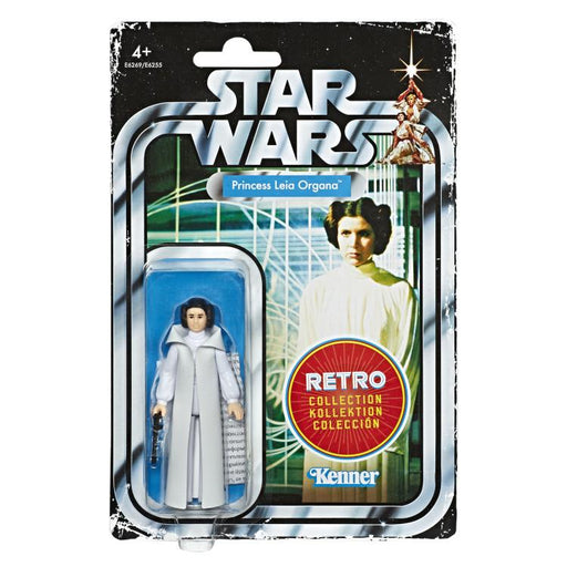 Star Wars The Retro Collection Action Figures Wave 1 - Princess Leia Organa - (BACKORDERED) JANUARY 2020