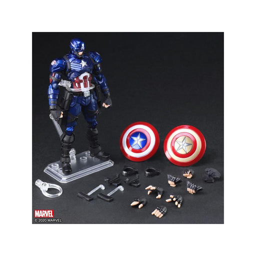 Marvel Universe Variant Captain America Bring Arts Action Figure - JANUARY 2021