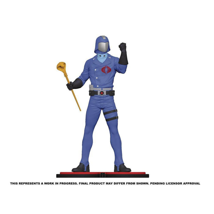 G.I. Joe Cobra Commander 1:8 Scale Statue - JANUARY 2021