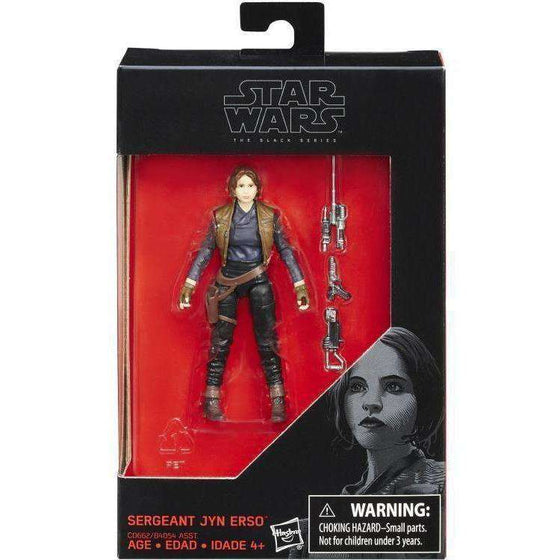 "Star Wars: The Black Series 3.75"" Wave 2 - Jyn Erso"