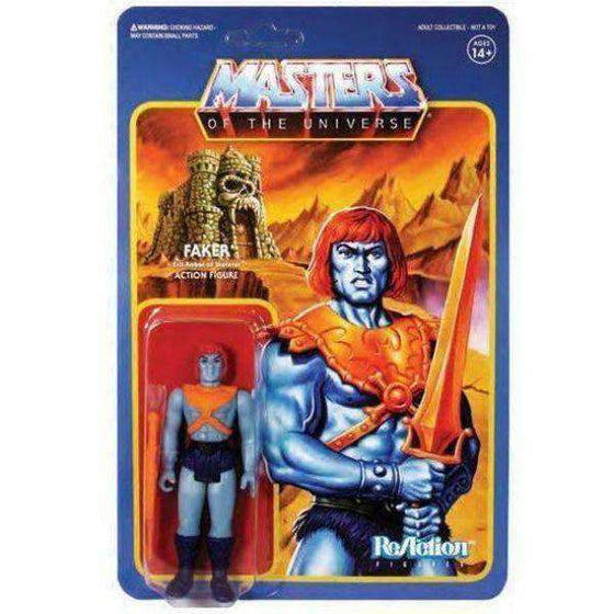 Masters of the Universe ReAction Faker Figure