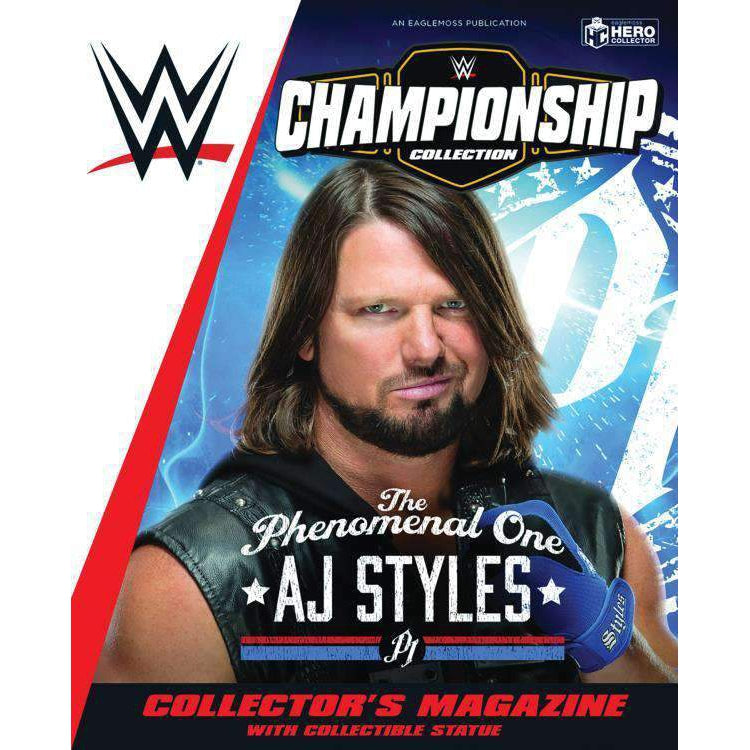 WWE Figurine Championship Collection #1 AJ Styles - NOVEMBER 2019