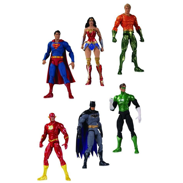 DC Essentials: Justice League Action Figure 6-Pack - JANUARY 2021
