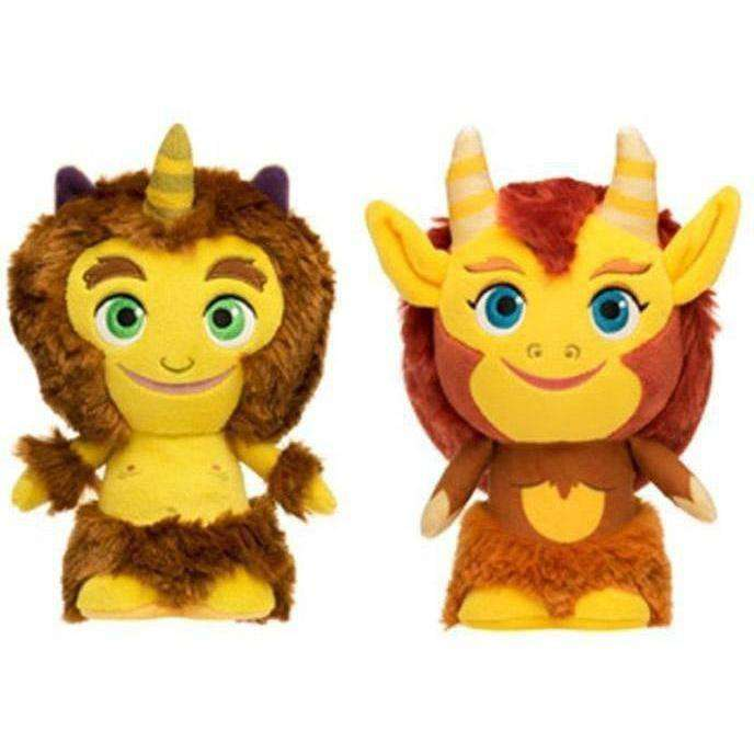 SuperCute Plushies: Big Mouth Set of 2 - JUNE 2019