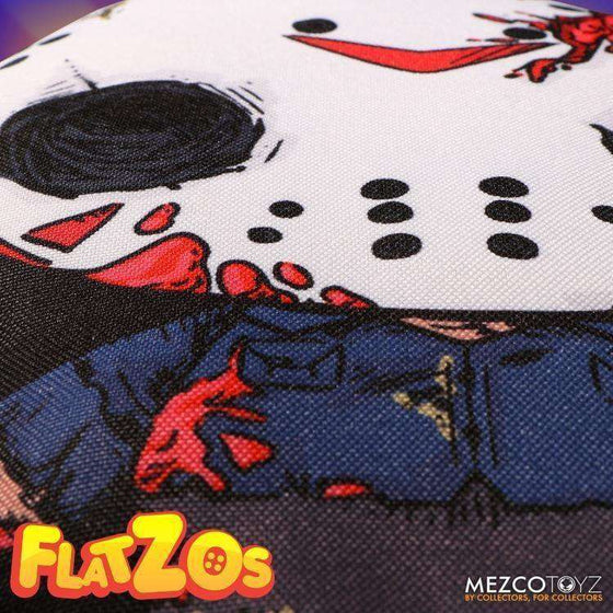 "Friday the 13th Flatzos Jason Voorhees 12"" Plush - JULY 2018"