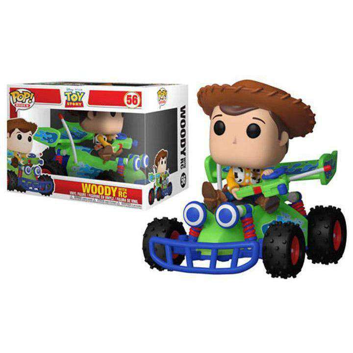 Pop! Rides: Toy Story - Woody With RC - Q1 2019