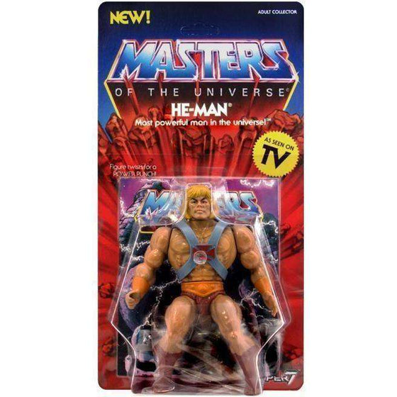 Masters of the Universe Vintage Wave 1 - He-Man - BACKORDERED SHIPS MAY 2019