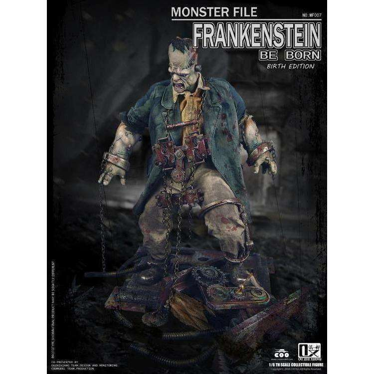 Monster File No.07 Frankenstein (Birth Edition) Be Born 1/6 Scale Figure - Q1 2019