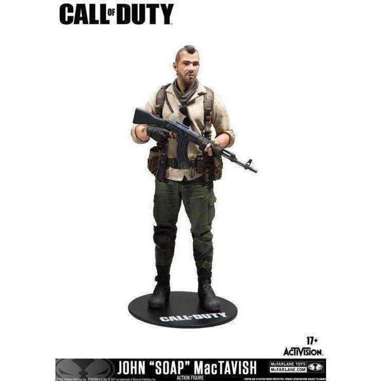 Call of Duty Action Figures - Complete Set of 3 - December 2018