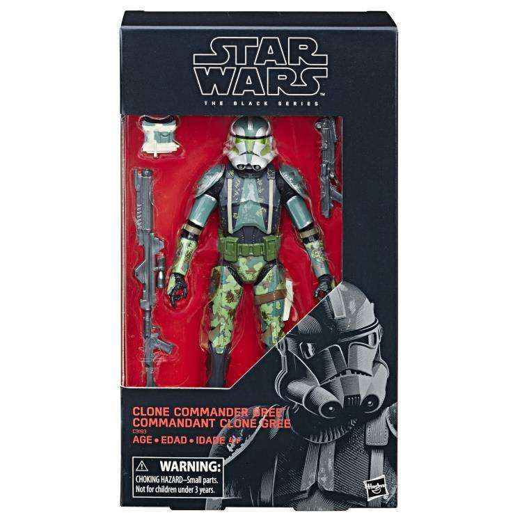 Star Wars: The Black Series Clone Commander Gree (The Clone Wars) - SEPTEMBER 2019