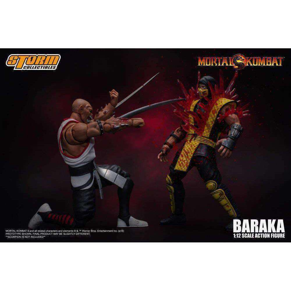 Mortal Kombat VS Series Baraka 1/12 Scale Figure- Q2 2019