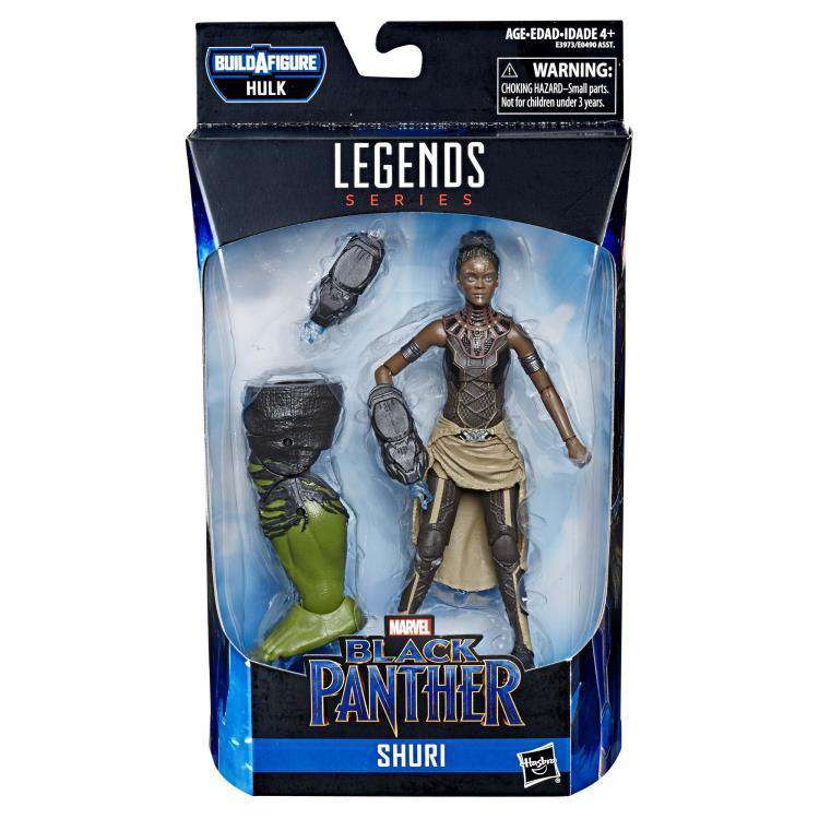 Avengers: Endgame Marvel Legends Black Panther Shuri (Hulk BAF)- Wave 2