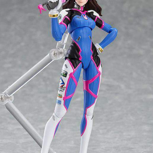 Overwatch figma No.408 D.Va (Classic Skin Edition) - JUNE 2019