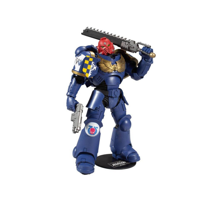Warhammer 40000 Series 1 7-Inch Ultramarines Primaris Assault Intercessor Space Marine Action Figure - SEPTEMBER 2020