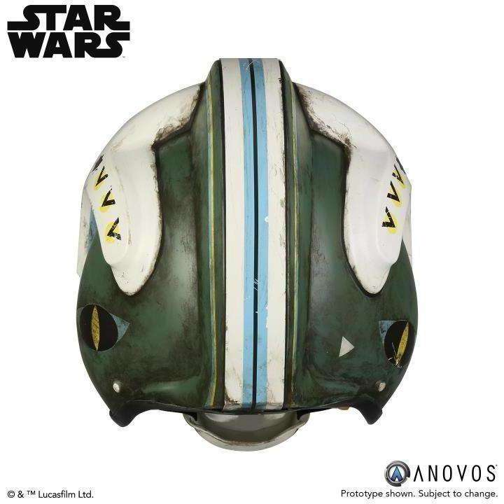 Star Wars General Merrick (Rogue One) 1:1 Scale Wearable Helmet (Blue Squadron) - Q3 2019
