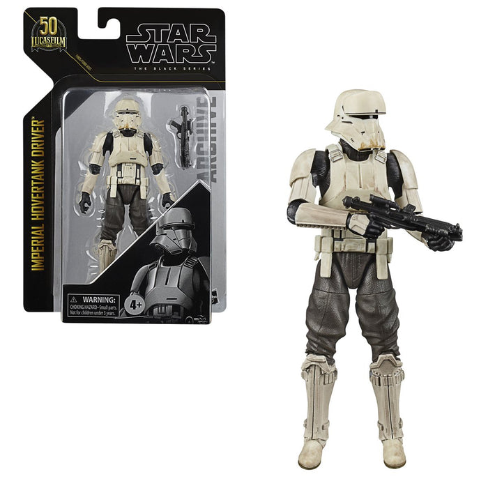 Star Wars The Black Series Archive Imperial Hovertank Driver - APRIL 2021