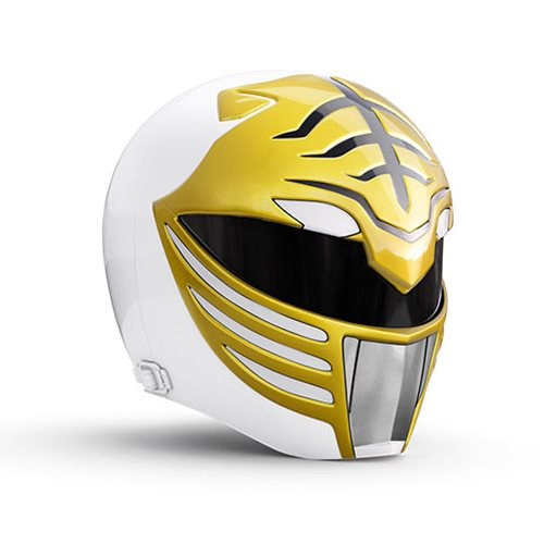 Power Rangers Lightning Collection Premium White Ranger Helmet Prop Replica