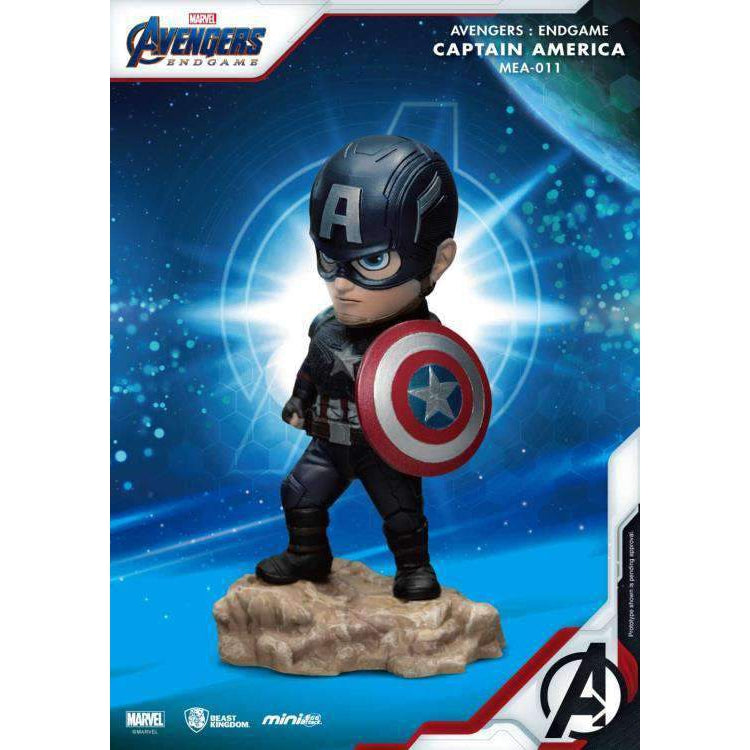 Avengers: Endgame Mini Egg Attack MEA-011 Captain America PX Previews Exclusive - NOVEMBER 2019
