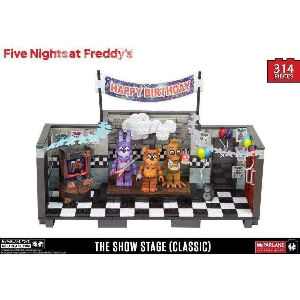 Five Nights at Freddy's Classic Show Stage Large Construction Set - December 2018