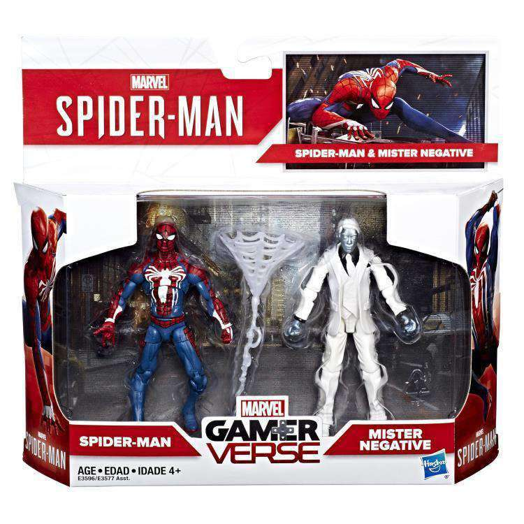 Marvel Gamerverse Wave 1 - Spider-Man Vs. Mr. Negative