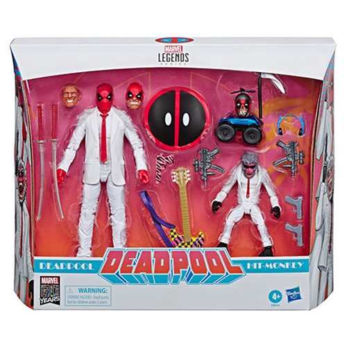 Marvel Legends Deadpool and Hit Monkey 6-Inch Action Figures - Exclusive - OCTOBER 2019