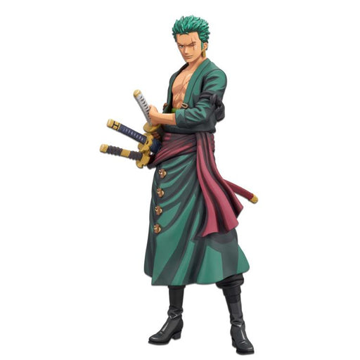 One Piece Roronoa Zoro Manga Dimensions Grandista Statue - OCTOBER 2020