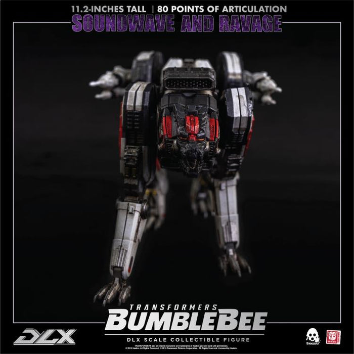 Bumblebee DLX Scale Collectible Series Soundwave and Ravage - Q3 2020