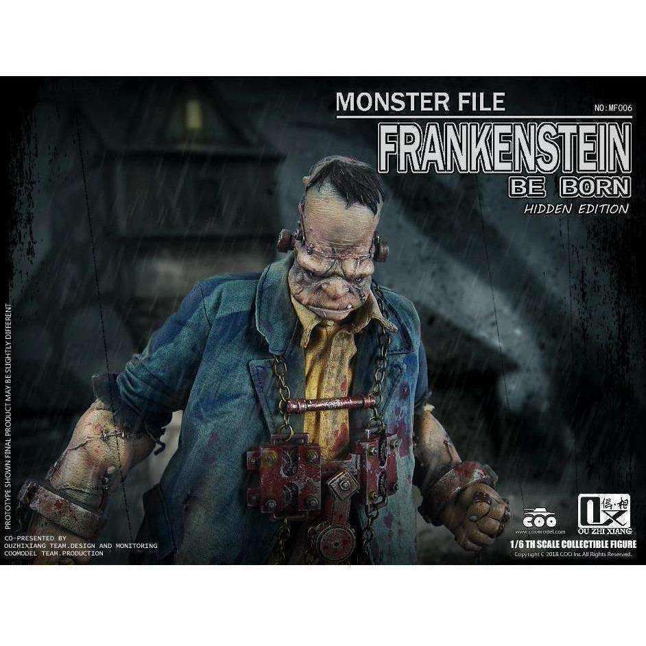 Monster File No.06 Frankenstein (Hidden Edition) Be Born 1/6 Scale Figure - Q3 2019