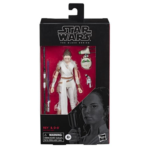 Star Wars: The Black Series Wave 22 - Rey and D-O