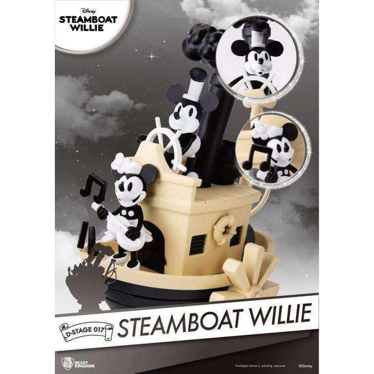 Disney D Select Ds 017 Steamboat Willie Px Previews Exclusive Statue