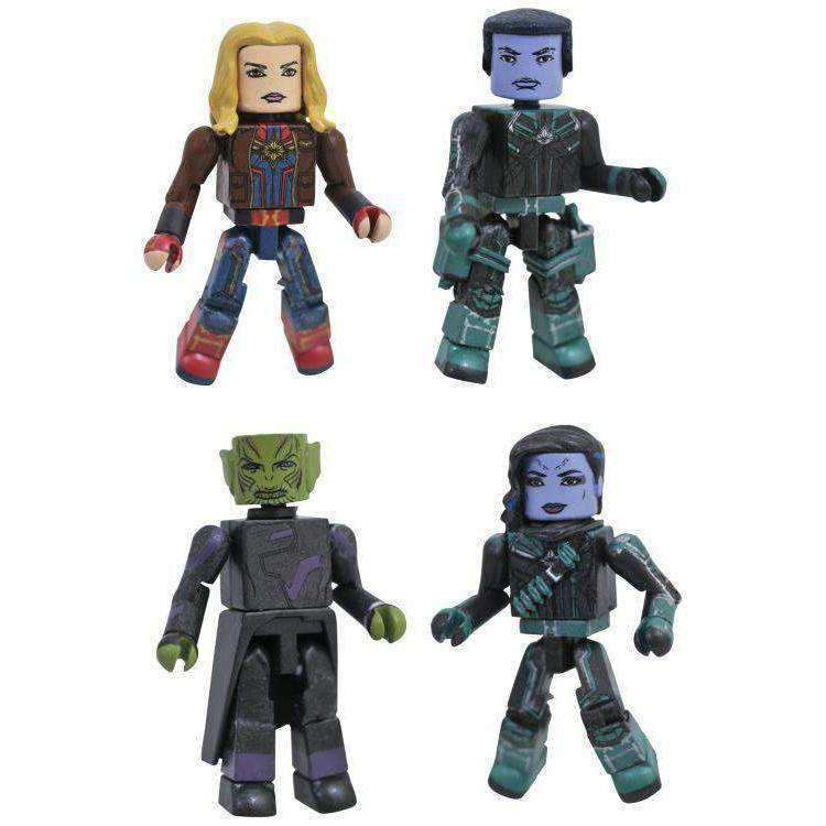 Captain Marvel Minimates Box Set - JULY 2019