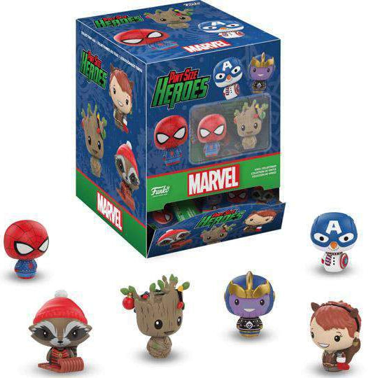 Marvel Holiday Pint Size Heroes Box of 24 Figures - December 2018