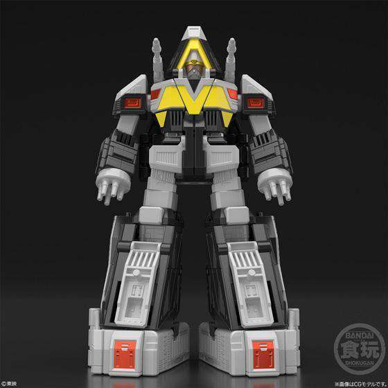 Power Rangers in Space Super Mini-Pla Astro Megazord & Delta Megazord Model Kit - MARCH 2019