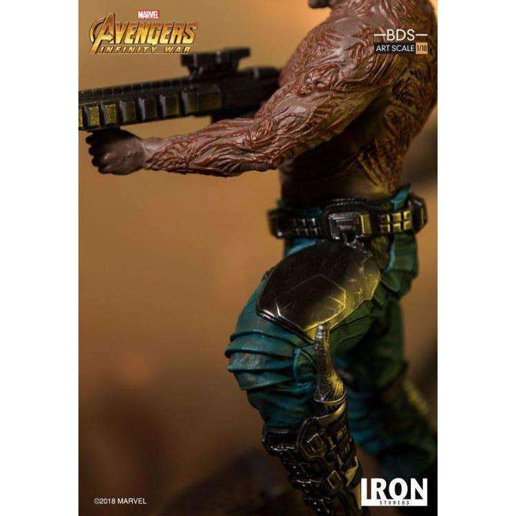 Avengers: Infinity War Battle Diorama Series Drax 1/10 Art Scale Statue - Q3 2019